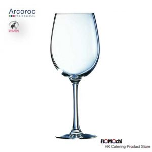 Tempered wine glass